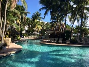 The pool at Lago Mar Resort and Club
